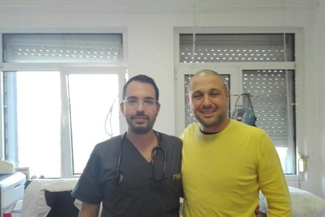 Иван Пещенски: Благодаря на лекарите и екипа на болницата по хематология (СНИМКИ)