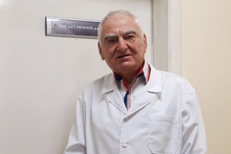Проф. д-р Тошко Лисичков: При пациентите с хемофилия и Covid-19 не се спират медикаментите за съсирване на кръвта